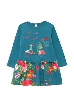 Платье Fleur de Vie. Цвет: синий