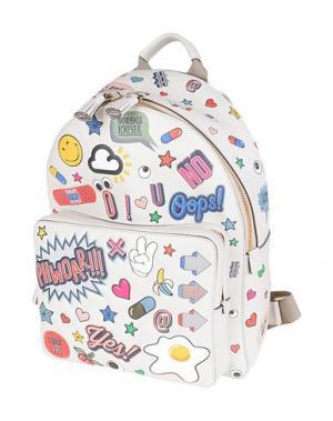 Рюкзаки и сумки на пояс ANYA HINDMARCH. Цвет: слоновая кость