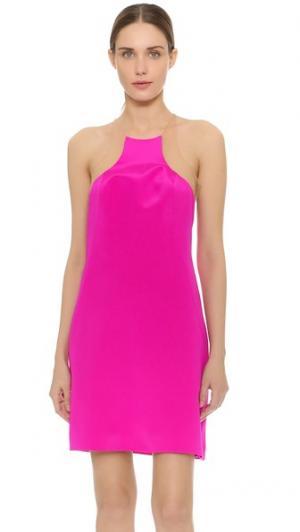 Коктейльное платье Slivered KAUFMANFRANCO. Цвет: фуксия