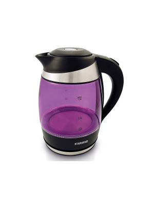 Чайник SKG2217 фиолетовый/черный 1.8л. 2200Вт StarWind. Цвет: фиолетовый