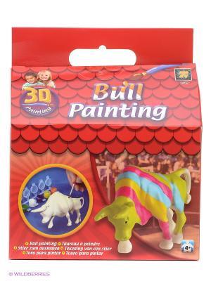 Набор Разрисуй буйвола AMAV. Цвет: красный