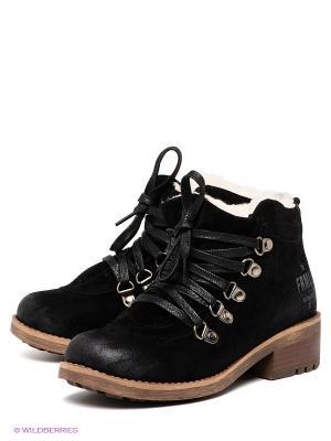 Ботинки Formalab. Цвет: черный