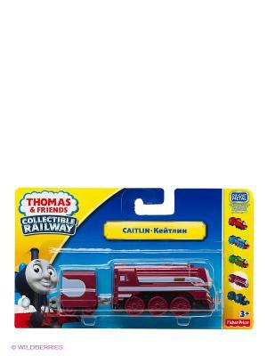Паровозик базовый с вагоном Серия Коллекция THOMAS & FRIENDS. Цвет: красный