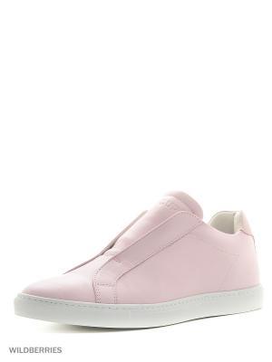 Кроссовки DonDup. Цвет: розовый
