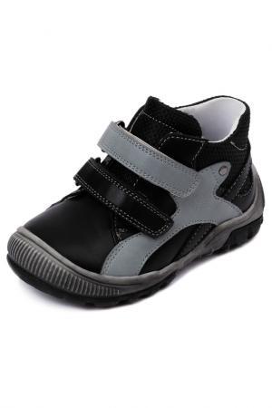 Ботинки PlayToday. Цвет: черный, серый, желтый
