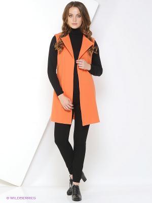 Жилет A.Karina. Цвет: оранжевый