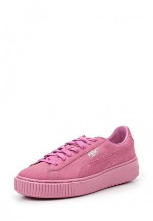 Кеды PUMA. Цвет: розовый