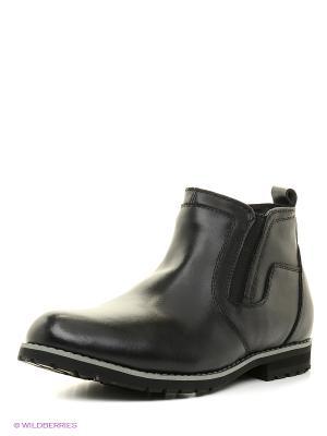 Ботинки Bagira. Цвет: черный