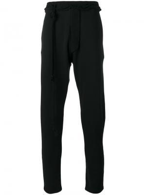 Спортивные брюки Alchemy. Цвет: чёрный