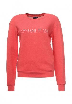 Свитшот Armani Jeans. Цвет: коралловый