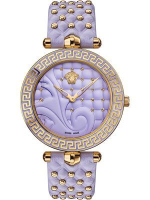 Часы Versace. Цвет: серый