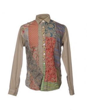 Pубашка BEAT GENERATION. Цвет: хаки