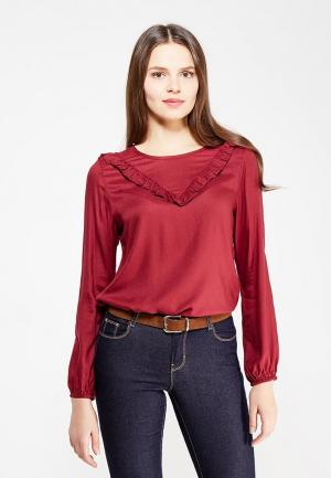 Блуза Q/S designed by. Цвет: бордовый
