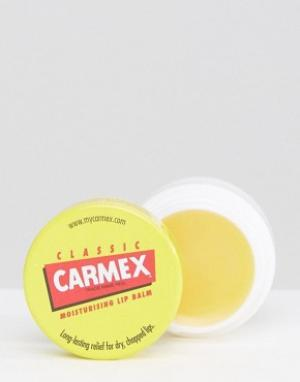Beauty Extras Бальзам для губ Carmex Original. Цвет: бесцветный
