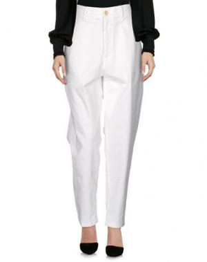 Повседневные брюки SOHO DE LUXE. Цвет: белый