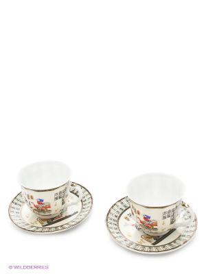 Наборы для чаепития LORAINE. Цвет: белый, красный