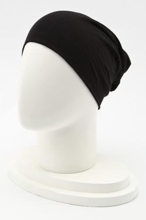 Шапка LakMiss. Цвет: черный, белый