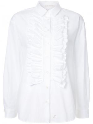 Ruffle shirt The Seafarer. Цвет: белый