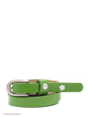 Ремень Vita pelle. Цвет: зеленый