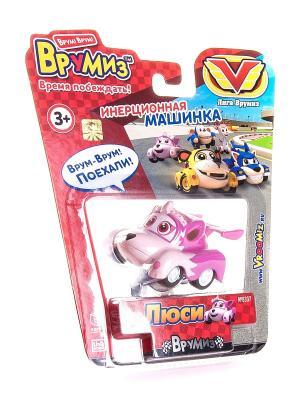Игрушка Врумиз инерционная машинка Люси. Цвет: красный