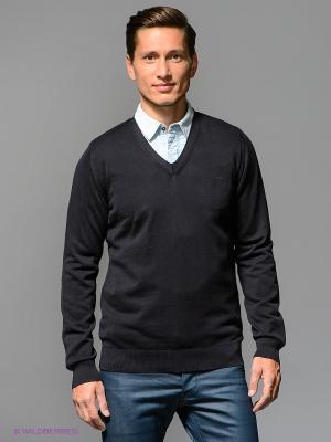 Пуловер G-STAR RAW. Цвет: темно-синий