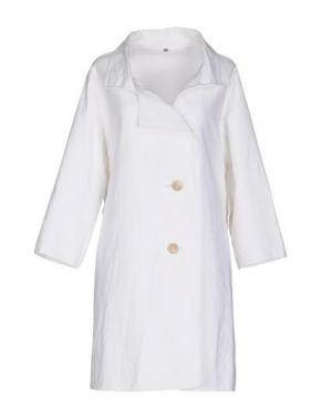 Легкое пальто N_8. Цвет: белый