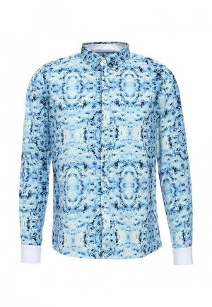 Рубашка Hopenlife. Цвет: голубой