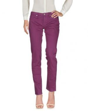 Повседневные брюки MASON'S JEANS. Цвет: розовато-лиловый
