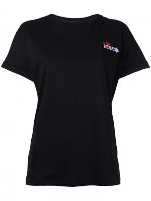 Slogan T-shirt Être Cécile. Цвет: чёрный
