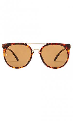 Солнцезащитные очки stateline Wonderland. Цвет: коричневый