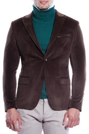 Пиджак MODACRISE. Цвет: коричневый