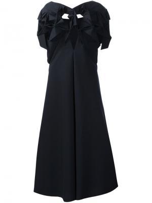 Структурированное платье-шифт Junya Watanabe Comme Des Garçons. Цвет: чёрный