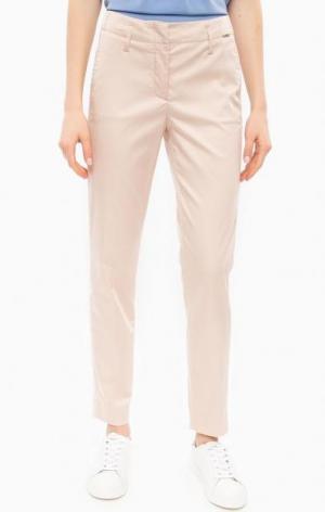 Зауженные брюки бежевого цвета Cinque. Цвет: бежевый