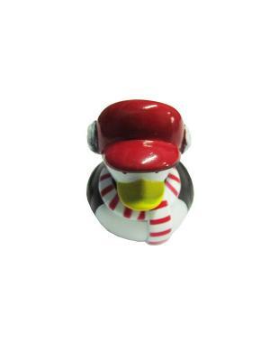 Игрушка для ванной Склад Уникальных Товаров. Цвет: красный