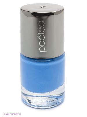 Лак для ногтей Поетеа НЕОН, тон 91 POETEQ. Цвет: голубой
