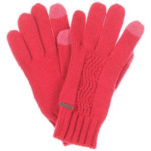 Перчатки женские  Stay J Glov Sangria Roxy. Цвет: розовый