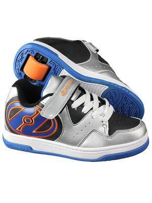Роликовые кроссовки HYPER 770542 (3) Heelys. Цвет: серый, синий