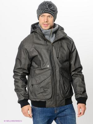 Куртка Volcom. Цвет: антрацитовый