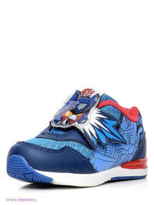 Кроссовки Kakadu. Цвет: синий, красный