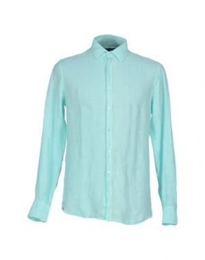 Pубашка I.D.I.B.. Цвет: бирюзовый