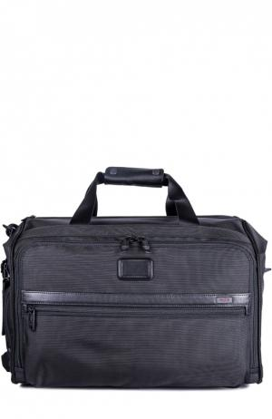Дорожная сумка Tumi. Цвет: черный
