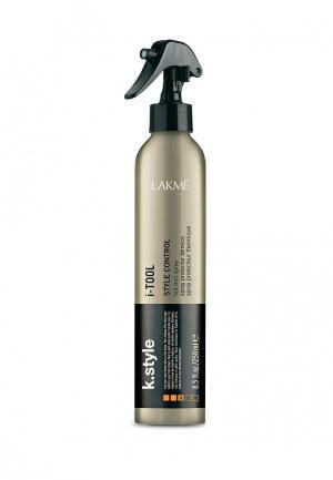 Спрей для волос термозащитный Lakme. Цвет: хаки