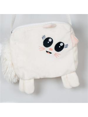 Сумочка детская Кошка Fancy. Цвет: белый