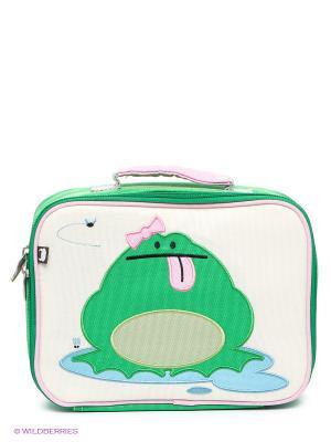 Ланч-Бокс Katarina - Frog Beatrix NY. Цвет: зеленый, голубой, молочный, бледно-розовый