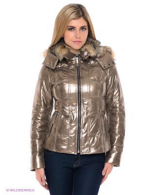 Куртка STEFANO FERRI. Цвет: серебристый