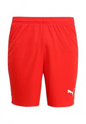 Шорты спортивные Puma. Цвет: красный