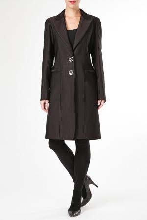 Пальто M. Collection. Цвет: коричневый
