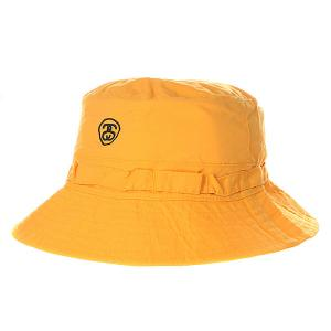Панама  Packable Bucket Hat Yellow Stussy. Цвет: желтый