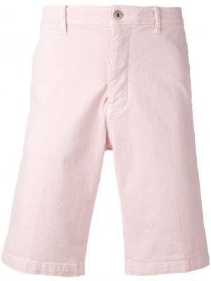 Шорты-чинос Edwin. Цвет: розовый и фиолетовый