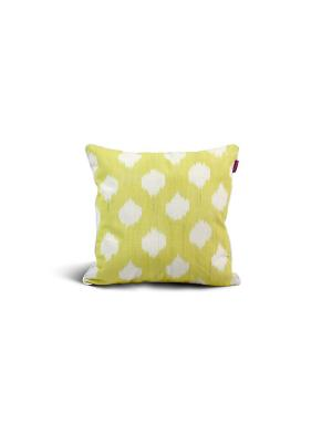 Чехол на подушку декоративныйIkat Square 45*45см RAWEDGE. Цвет: желтый